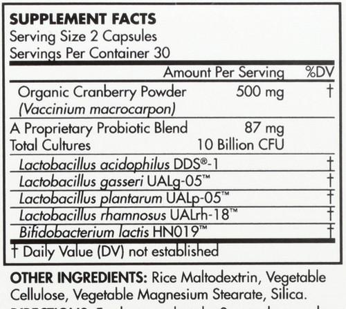 Probiotic Women's 10 Billion Cfu 60 Capsules
