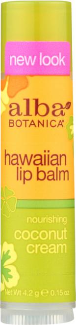 Lip Balm Coconut Cream Alba Hwn Coconut Lip Balm