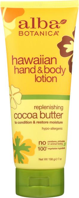 Lotion Hand Body Cocoa Butter Alba Cocoa Butter H&B Ltn 7Oz