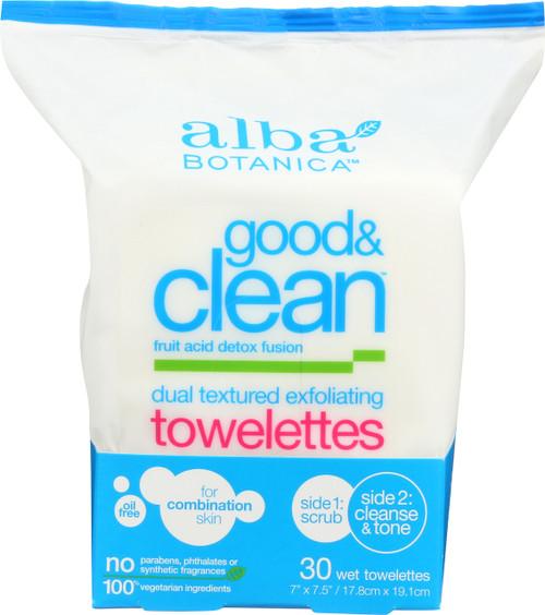 Good Clean Towelette Dual Texture Good & Clean Towelettes 30Ct