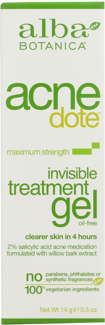 Gel Acnedote Invisible Treatment Acnedote Invisible Trtmnt Gel