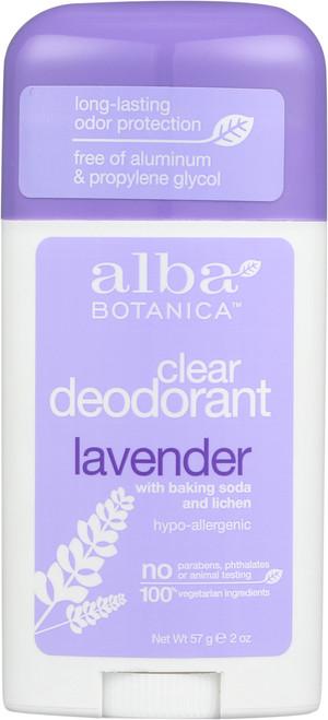 Deodorant Lavender Og Alba Deod Stick Lavender  2Oz