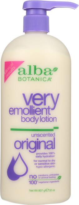 Lotion Botanica Unscented Alba Ve Body Ltn-Unscntd 32Oz
