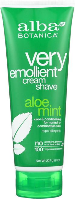 Cream Shave Aloe Mint Alba Crm Shv- Aloe Mint
