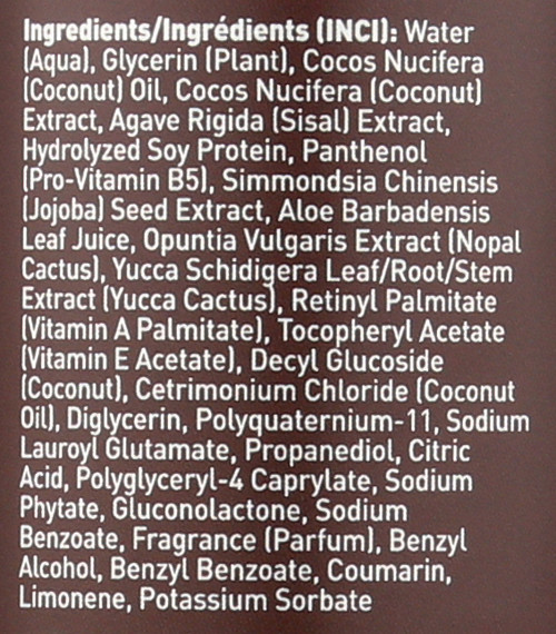 Hair Defrizzer & Heat Protector Coconut 8 Fl oz 237 Ml