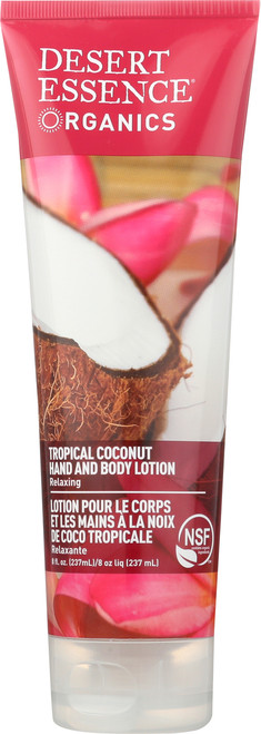 Hand And Body Lotion Tropical Coconut