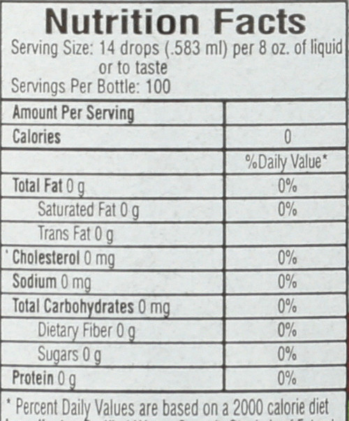 Sweet Drops™ Sweetener Cola 100 Servings 2 Fl oz
