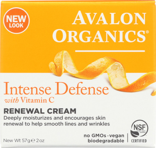 Cream Renewal Intense Defense Og Ao Vitamin C Renew Creme 2Oz