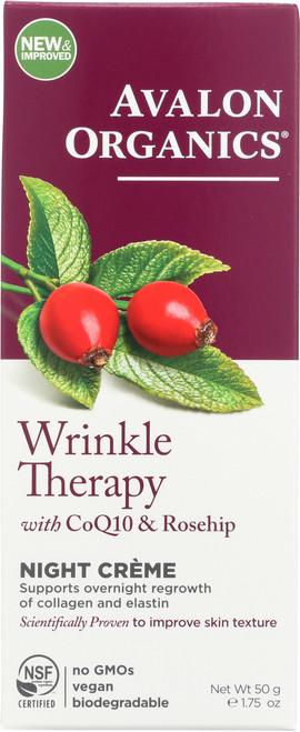 Creme Night Wrinkle Therapy Og Coq10 Night Creme 1.75Oz