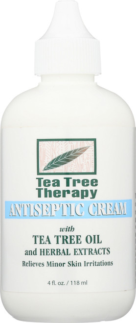 Antiseptic Cream With Tea Tree Oil And Herbal Extracts