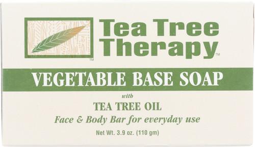 Vegetable Base Soap Tea Tree Oil