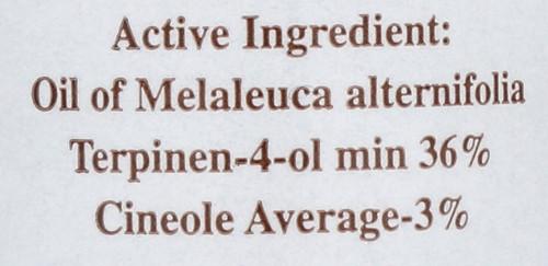 Tea Tree Oil 100% Pure Australian Natural Antiseptic 1 Fl oz 30 Ml