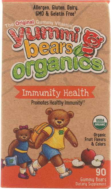 Immunity Health Organic Organic Fruit Flavors & Colors