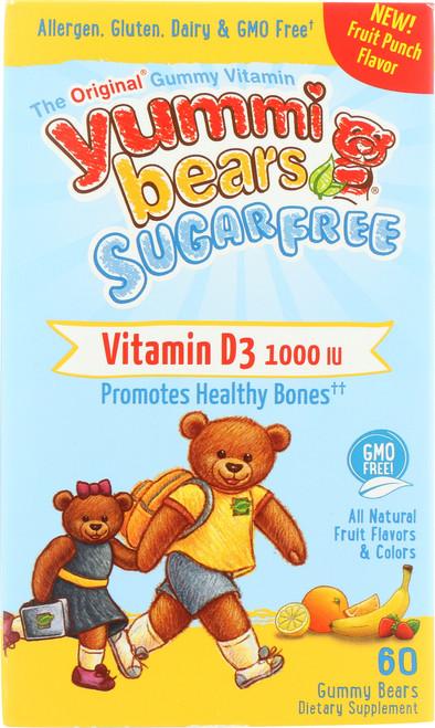 Vitamin D3 Sugar Free All Natural Fruit Flavors & Colors