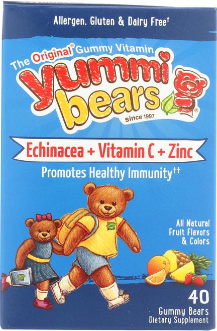 Echinacea W/ Vitamin C &  Zinc All Natural Fruit Flavors & Colors