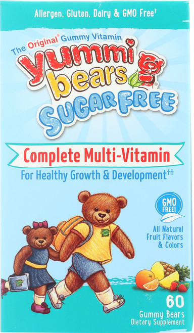Complete Multi Vitamin Sugar Free All Natural Fruit Flavors & Colors