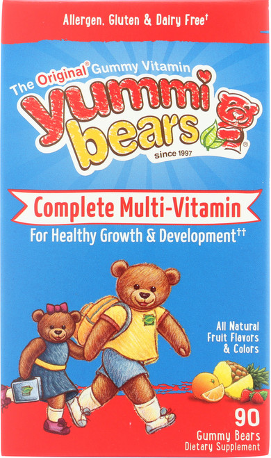 Complete Multi Vitamin All Natural Fruit Flavors & Colors