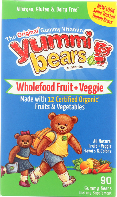 Whole Food Fruit & Veggie All Natural Fruit + Veggie Flavors & Colors