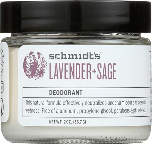 Deodorant Jar Lavender + Sage