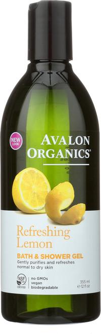 Bath And Shower Gel  Refreshing Lemon