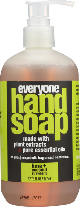 Hand Soap Lime + Coconut Strawberry