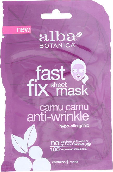 Fast Fix Sheet Mask Camu Camu Anti-Wrinkle