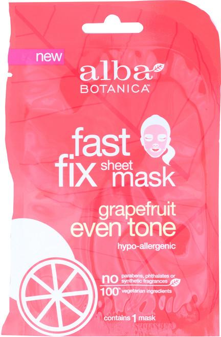 Fast Fix Sheet Mask Grapefruit Even Tone