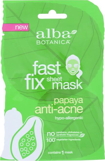 Fast Fix Sheet Mask Papaya Anti-Acne