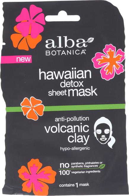 Hawaiian Detox Sheet Mask Anti-Pollution Volcanic Clay