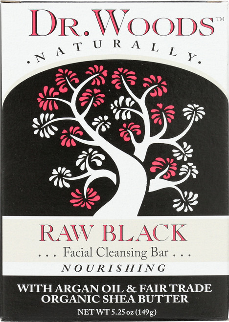 Bar Soap Raw Black