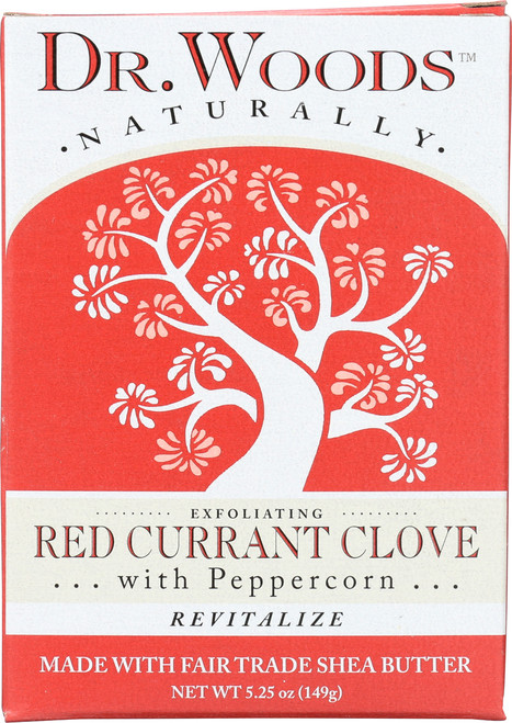 Shea Butter Soap Red Currant Clove