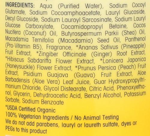 2Chic® Ultra-Revive Shampoo Pineapple & Ginger 24 Fl oz 710 Ml