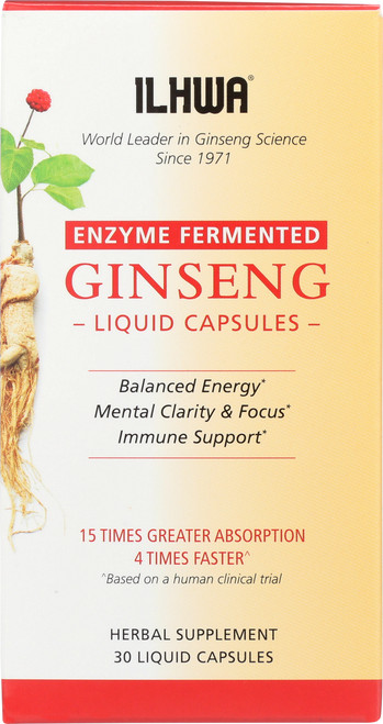 Ginseng Liquid Capsules Enzyme Fermented