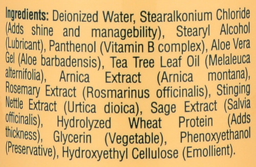 Hair Care Conditioner With Tea Tree Oil And Herbal Extracts 16 Fl oz 473 Ml