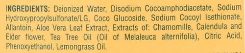 Antiseptic Liquid Soap Tea Tree Oil For Face & Hands 8 Fl oz 236 Ml