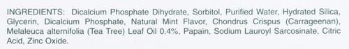 Toothpaste Whitening Toothpaste With Tea Tree Oil 3oz 85 Gm