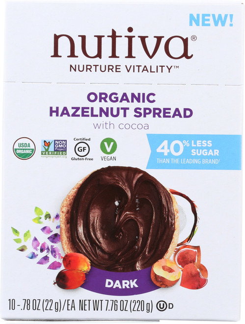 Organic Hazelnut Spread Dark