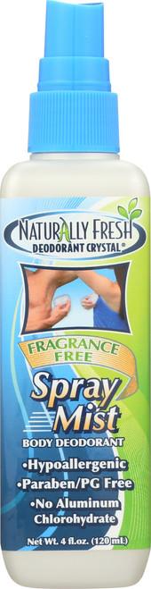 Body Deodorant Spray Mist