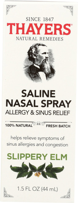 Saline Nasal Spray Allergy & Sinus Relief