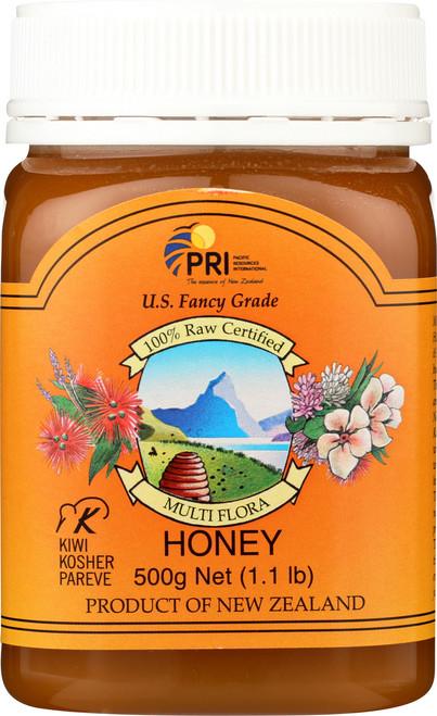 Honey Raw Multiflora