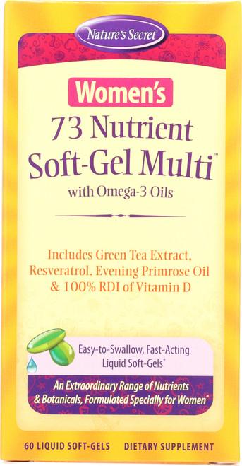 Women'S 73 Nutrient Soft-Gel Multi