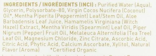 Coconut Oil Mouthwash Coconut Mint 16 Fl oz 480 Ml