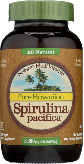 Hawaiian Spirulina 1000 Mg Spirulina
