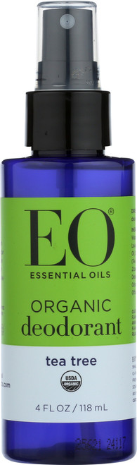 Eo Deodorant Spray Tea Tree Tea Tree