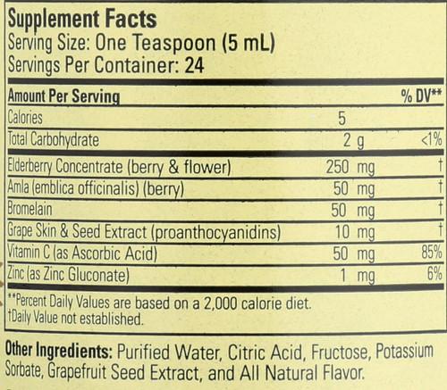 Aller-Care (Liquid) Natural Grape 4 Fl oz 118.5 Ml