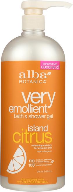 Bath And Shower Gel  Island Citrus