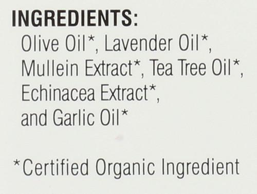 Ear Oil-Organic            1 Fl oz 30 Ml