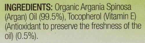 Argan Oil-Pure  4oz 118 Ml