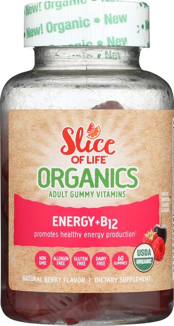 Energy + B12 Organic