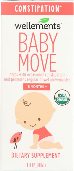 Baby Move Organic Prunce Concentrate And Prebiotics